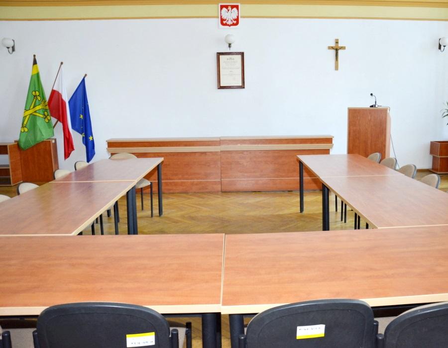 Ilustracja do informacji: Sesja Rady Powiatu