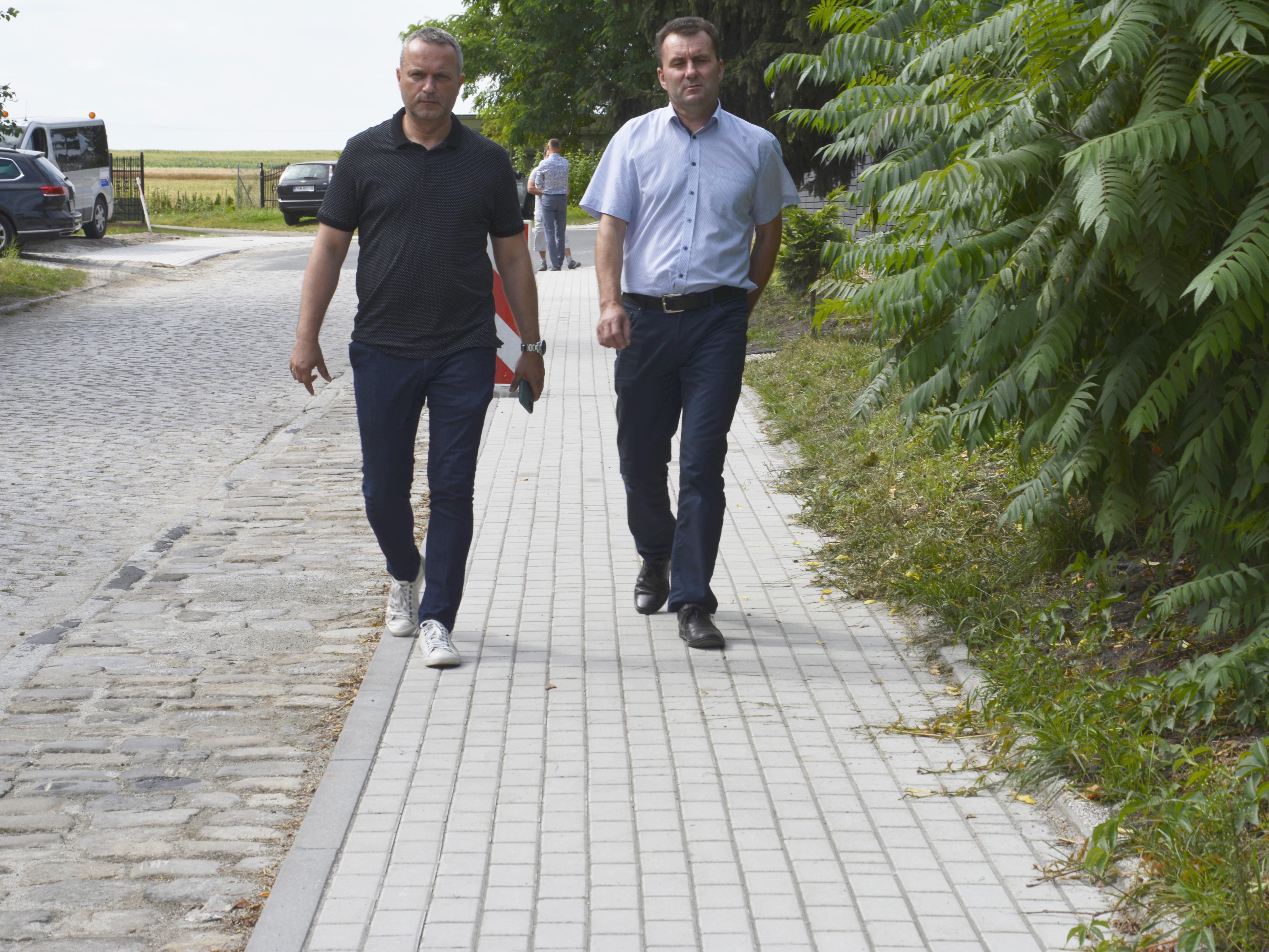 Ilustracja do informacji: Trzecia powiatowo-gminna inwestycja gotowa!