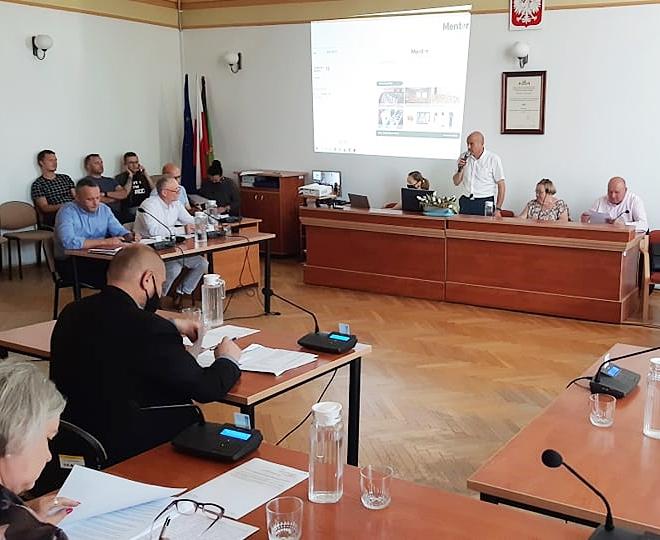 Ilustracja do informacji: Na sesji rady powiatu m.in. o szpitalu