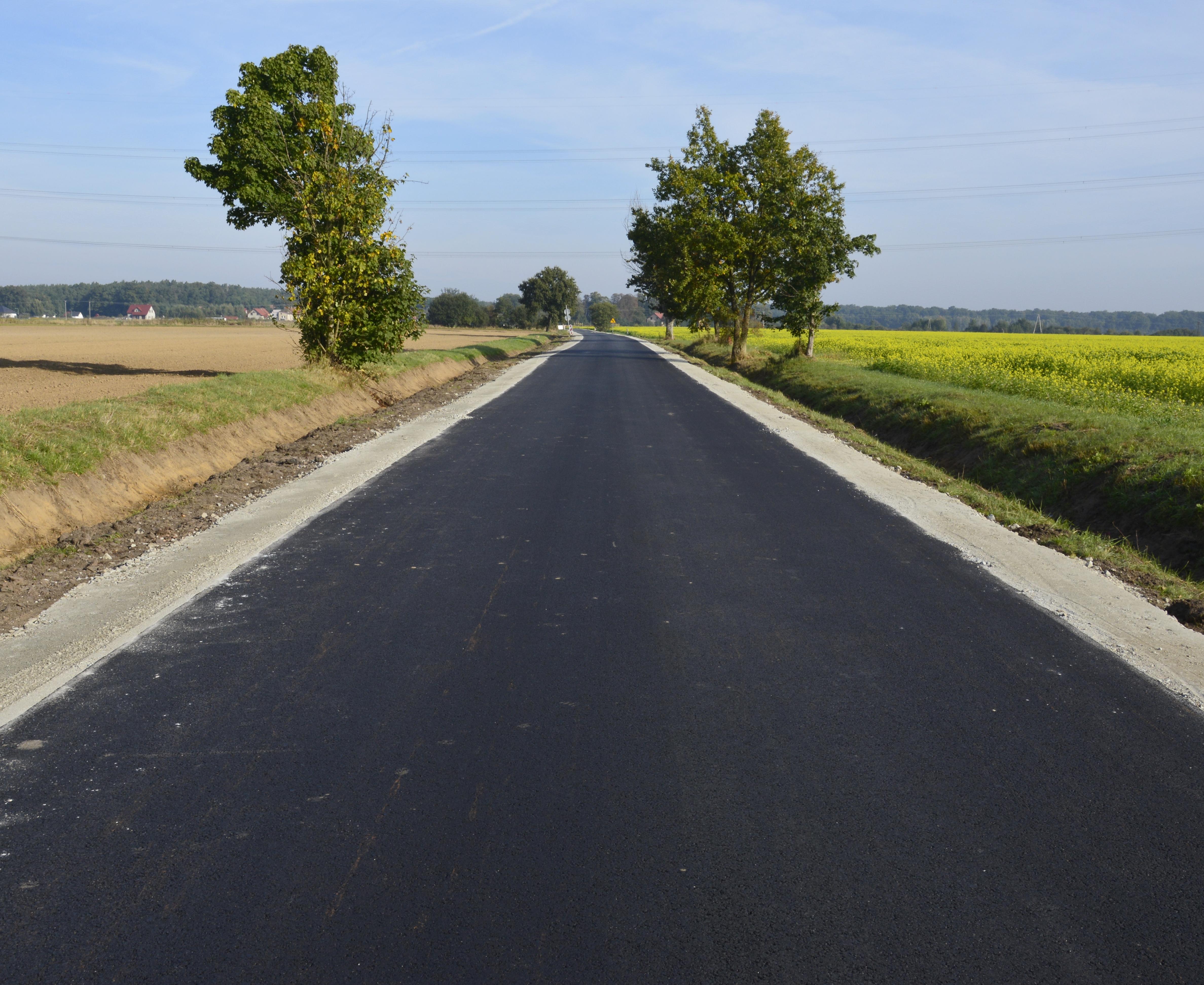 Ilustracja do informacji: Kolejna droga transportu rolnego gotowa